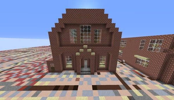 image of Crewe built in minecraft