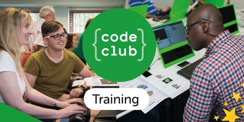Code Club NW Training logo and image