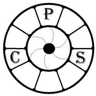 Crewe Photographic society logo camera lens